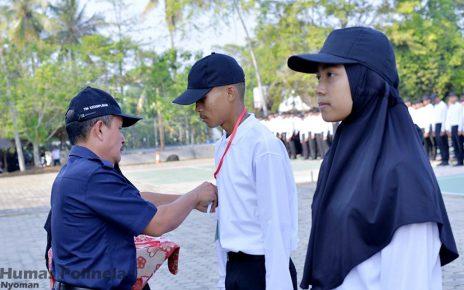 1135 Peserta ikuti kegiatan Pengenalan Kehidupan Kampus Mahasiswa Baru Politeknik Negeri Lampung Tahun 2019
