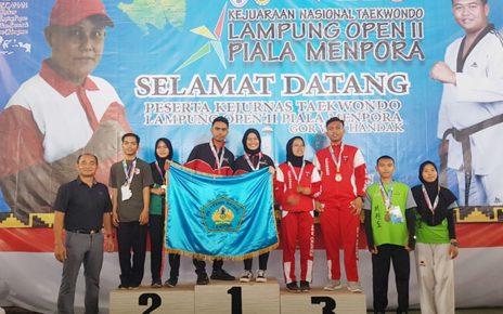 Polinela Juara Kejurnas Taekwondo Open II Piala Menpora