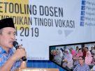 Pembukaan dan Pembekalan Kegiatan Retooling Dosen Pendidikan Tinggi Vokasi Politeknik Negeri Lampung Tahun 2019