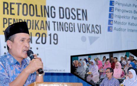 Pembekalan Retooling Dosen Politeknik Negeri Lampung