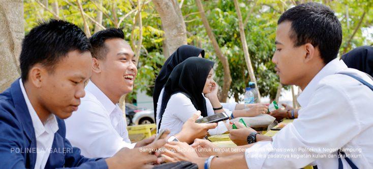 Bangku Kuning Politeknik Negeri Lampung