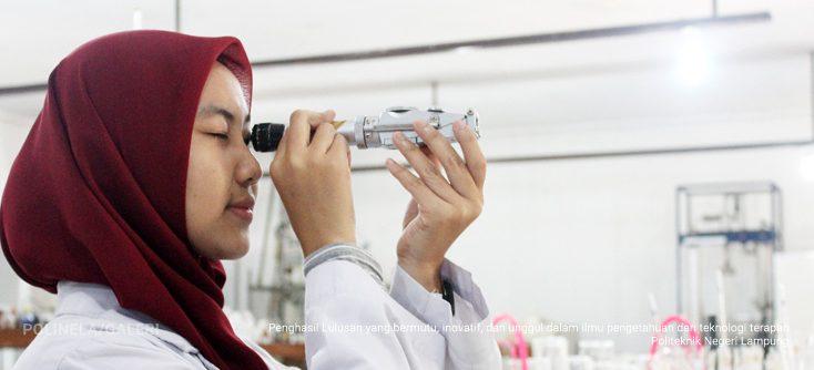 Praktikum Laboratorium Teknologi Pangan Politeknik Negeri Lampung