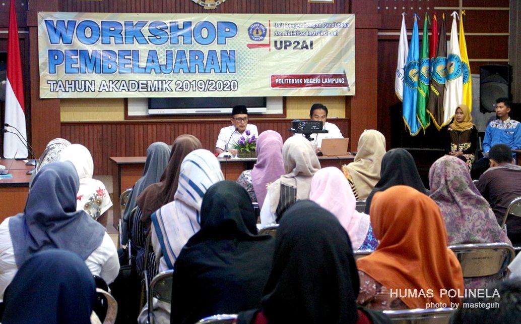 Workshop Pembelajaran Bagi 62 Dosen Muda Politeknik Negeri Lampung