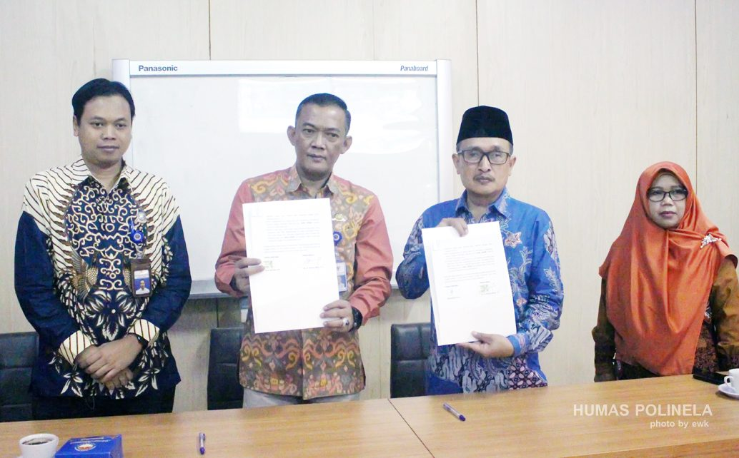 Penandatanganan Nota Kesepahamanan (MOU) antara Kantor Kesyahbandaran Dan Otoritas Pelabuhan Kelas 1 Panjang (KSOP KELAS 1 PANJANG) Dengan Politeknik Negeri Lampung