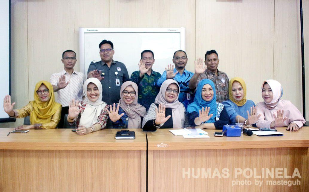 Lembaga Perlindungan Anak Audiensi di Politeknik Negeri Lampung