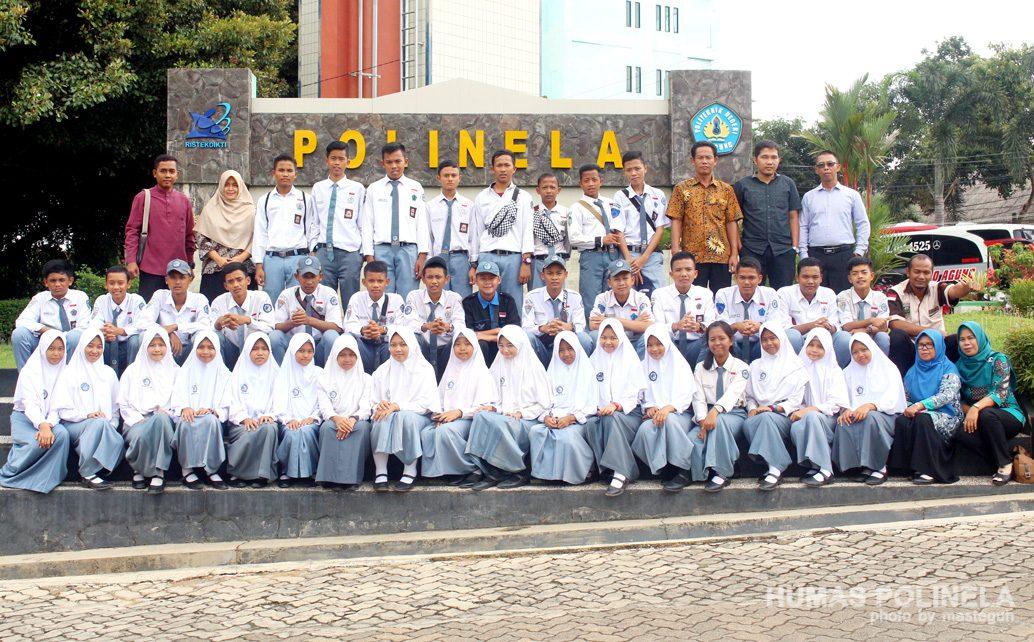 SMK Negeri 1 Lempuing Jaya Kunjungan Industri di Kampus Polinela