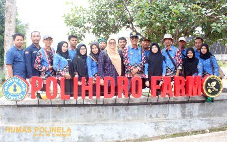 UPTD BPPP Way Khilau Kunjungi Polihidro Farm Polinela
