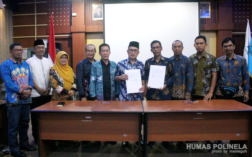 SMK Negeri 1 Pangkalan Kuras Riau MoU dengan Polinela