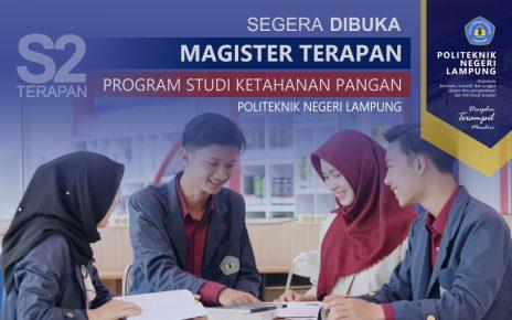 Mendikbud Terbitkan Izin Pembukaan Program Magister Terapan di Politenik Negeri Lampung