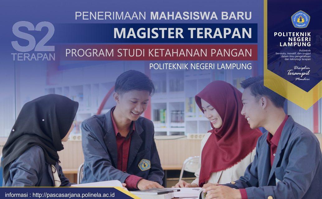 Pascasarjana Magister Terapan Politeknik Negeri Lampung