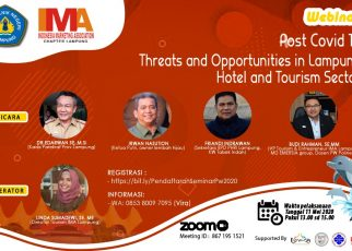 POST COVID 19 - THREAT AND OPPORTUNITY FOR LAMPUNG HOTEL AND TOURISM SECTOR