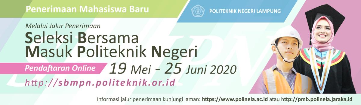Seleksi Bersama Masuk Politeknik Negeri Lampung