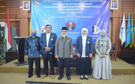 Kuliah Umum Perdana dan Pengenalan Kehidupan Kampus Bagi Mahasiswa Baru (PKKMB) Program Pascasarjana Magister (S2) Terapan