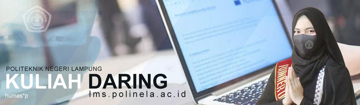 politeknik negeri lampung terapkan kuliah daring pada semester ganjil tahun akademik 2020/2021