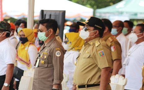 Direktur Polinela Menghadiri Peluncuran Program Kartu Petani Berjaya Propinsi Lampung