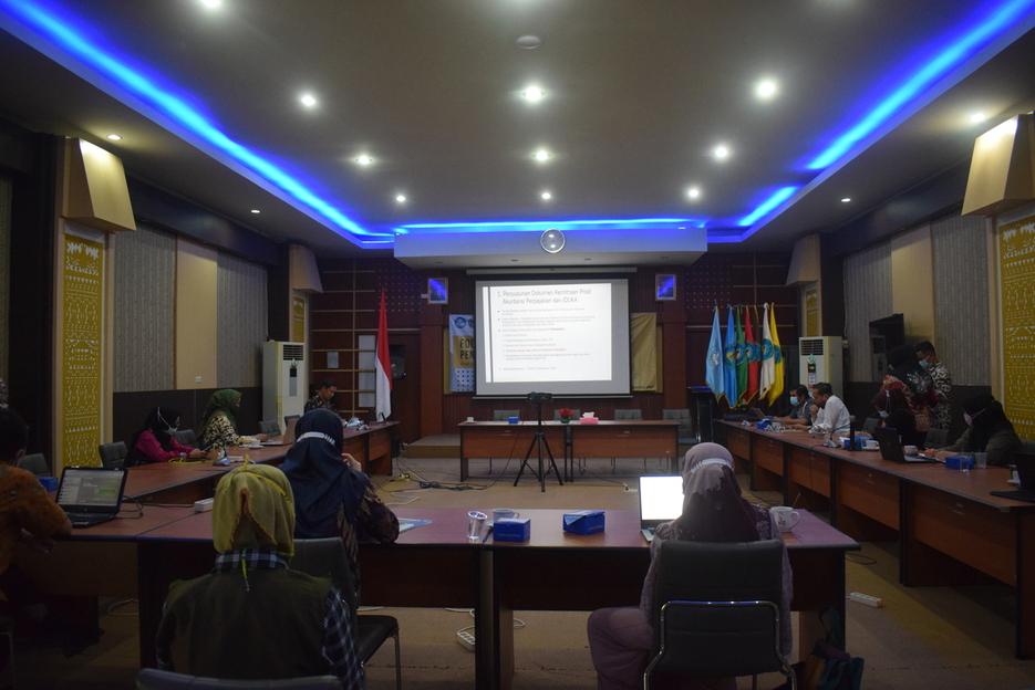 Focus Group Discussion Penyusunan Dokumen Kemitraan Program Studi Akuntansi Perpajakan Polinela dengan PT. Dame Mitra Solusindo dan KAP Tjahjo Machjud Modopuro