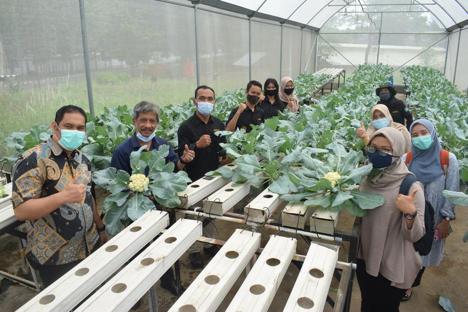 Badan Penyuluhan dan Pengembangan Sumber Daya Manusia Pertanian, Kementerian Pertanian mengadakan Benchmarking pada Polinela