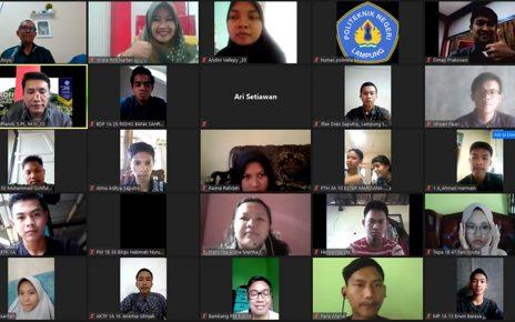Pelatihan Program Kreatifitas Mahasiswa Polinela 2020
