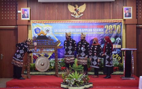 Polinela Mengadakan International Conference On Agriculture and Applied Science (ICoAAS) 2020 Pertama