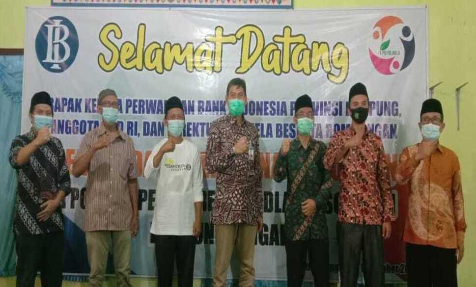 Program Kemandirian Ekonomi Pesantren di Provinsi Lampung