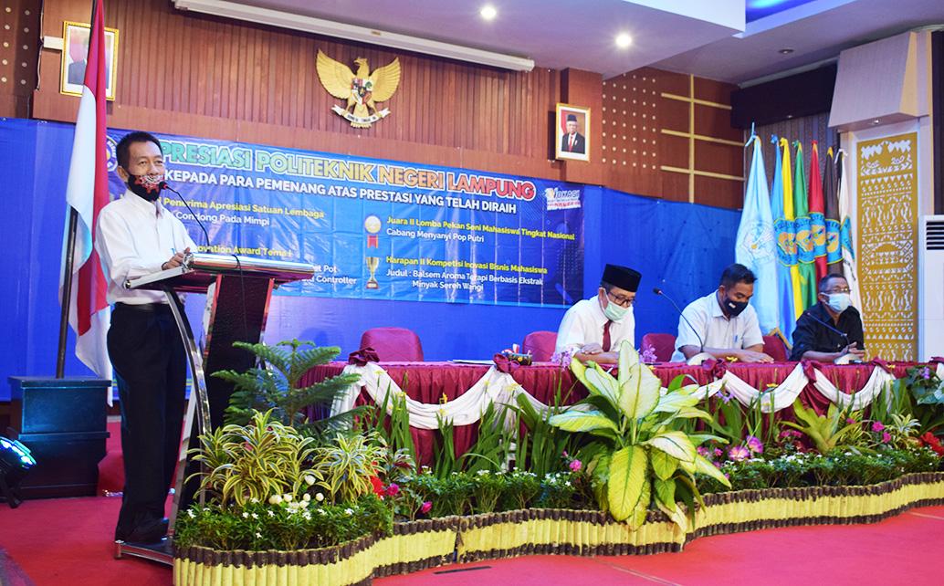 Ir.Beni Hidayat, M.Si., (Pembantu Direktur III Bidang Kemahasiswaan)