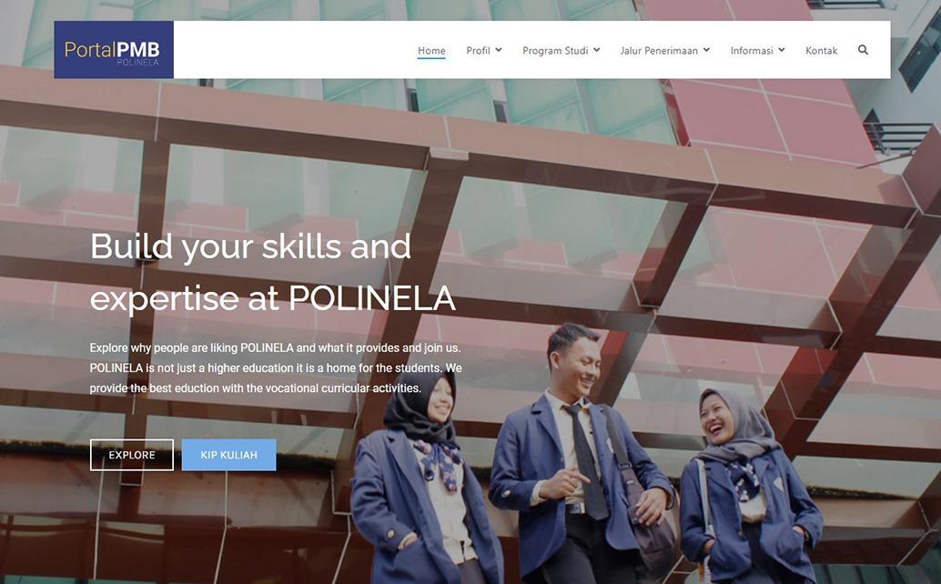 Portal Informasi Aktual dan Terpercaya Penerimaan Mahasiswa Baru (PMB) Politeknik Negeri Lampung