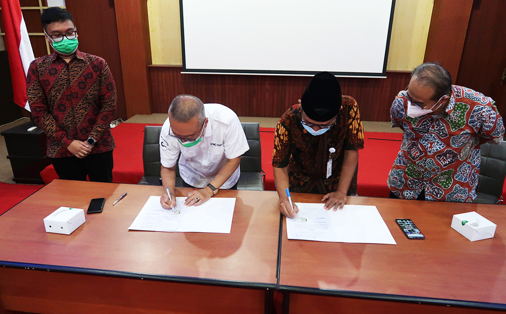 Penandatanganan Nota Kesepahaman (MoU) Polinela Dengan CV Selera Nusantara