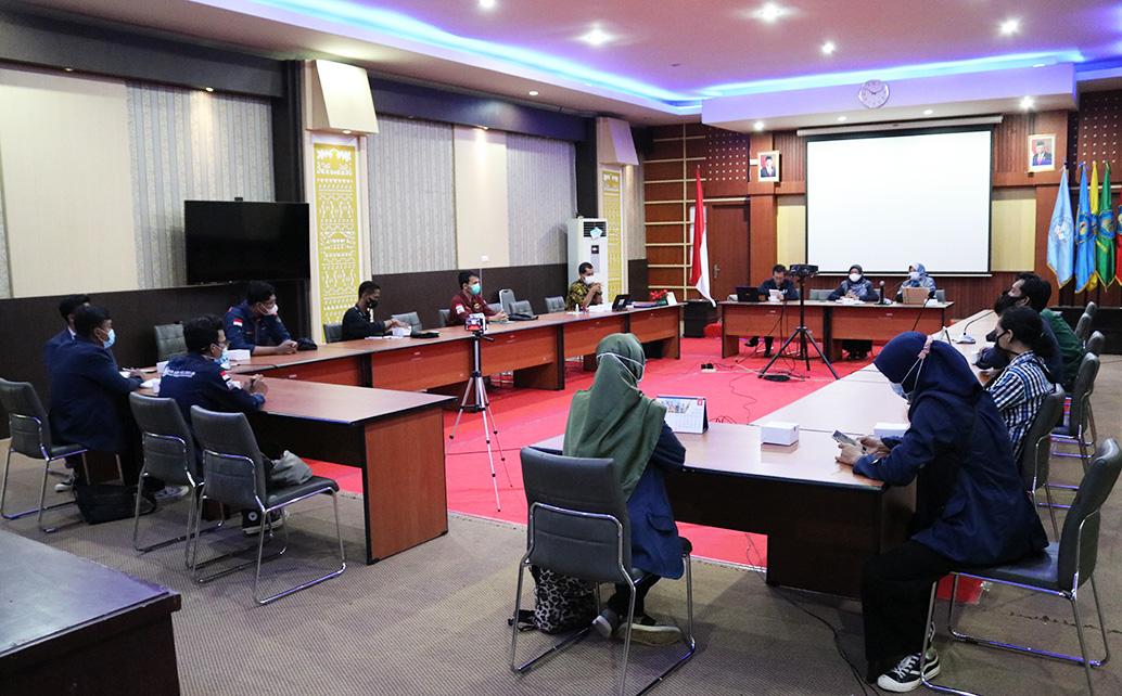 Audiensi Direksi Dengan ORMAWA Politeknik Negeri Lampung