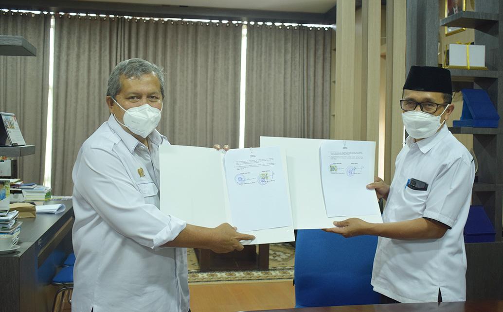 Penandatanganan Nota Kesepahaman (MoU) Antara Polinela Dan Balai Pengkajian Teknologi Pertanian
