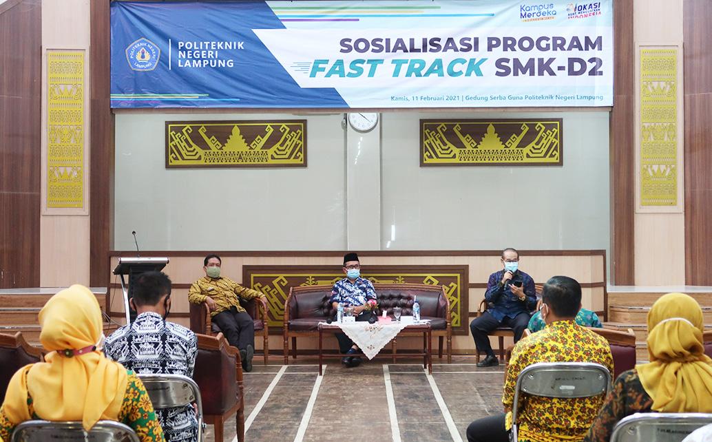 Sosialisasi Program Fast Track SMK-D2