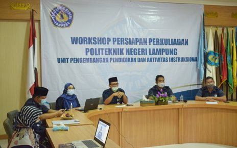 Workshop Persiapan Perkuliahan Semester Genap TA 2020/2021