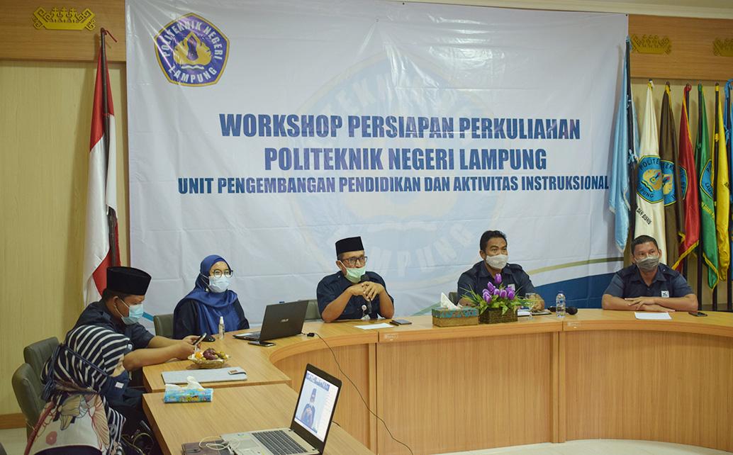 Workshop Persiapan Perkuliahan Semester Genap TA 2020/2021