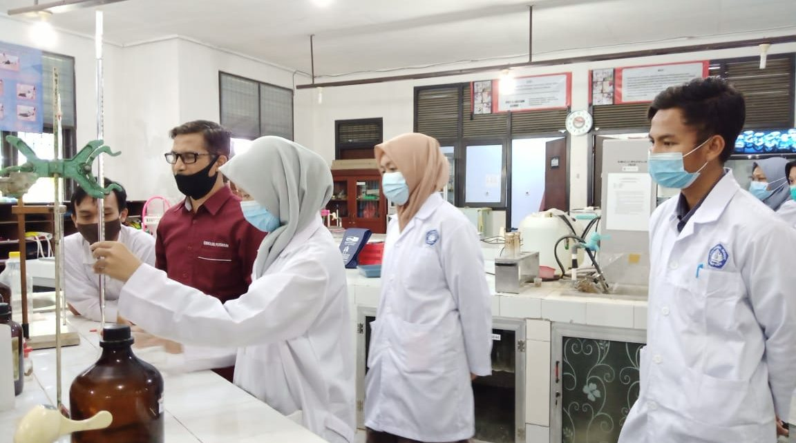 Teaching Industry di Lab THP Polinela