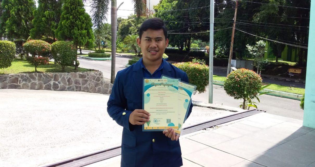 Panji Sentosa meraih Medali Perunggu pada Pelatihan Olimpiade Sains Indonesia (POSI)