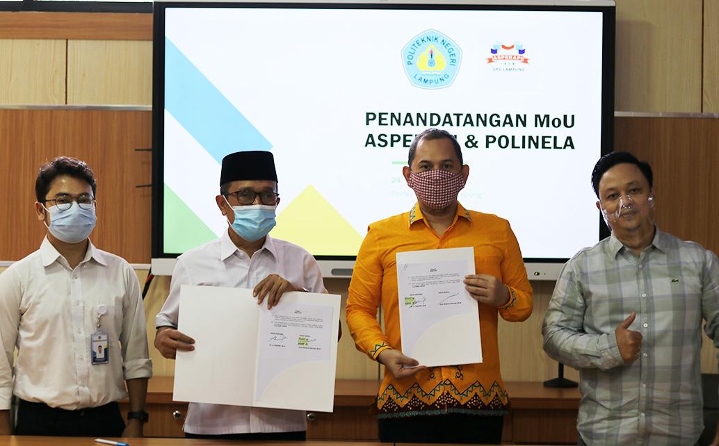 Asosiasi Perusahaan Pameran Indonesia Lampung MoU dengan Polinela