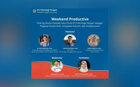 Weekend Productive (Series 1) - D3 Teknologi Pangan Polinela