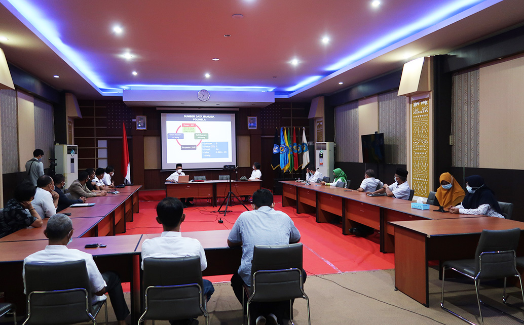 Kunjungan DPP Apindo Lampung ke Politeknik Negeri Lampung