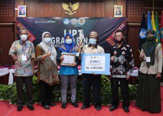 """Kopiah Pelepah Pinang"" Juarai Lomba Inovasi Produk Teknologi (LIPT) Politeknik Negeri Lampung"