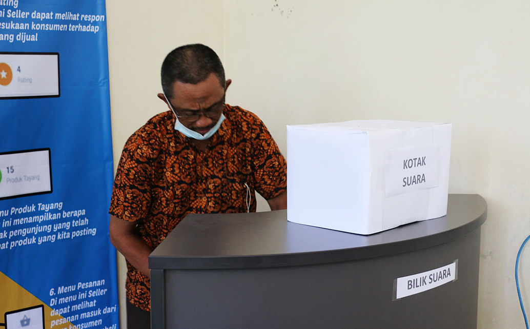 Pemilihan Ketua Jurusan Ekonomi dan Bisnis Periode 2021-2025