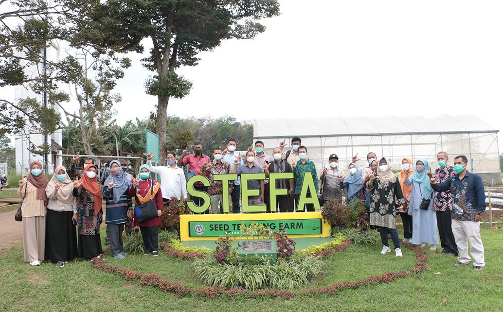 Kunjungan BPPSDM Kementerian Pertanian dan rombongan ke STeFa Polinela