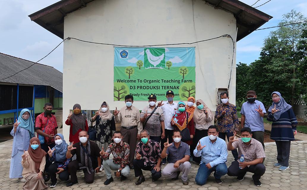 Kunjungan BPPSDM Kementerian Pertanian dan rombongan ke Polibronik Polinela