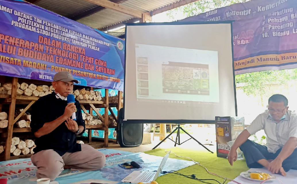 Polinela Dampingi Pondok Pesantren Baitul Quran Metro Kembangkan Agrowisata Terpadu
